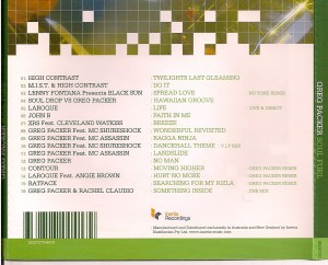 greg packer soul fuel mix cd feat mc shureshock
